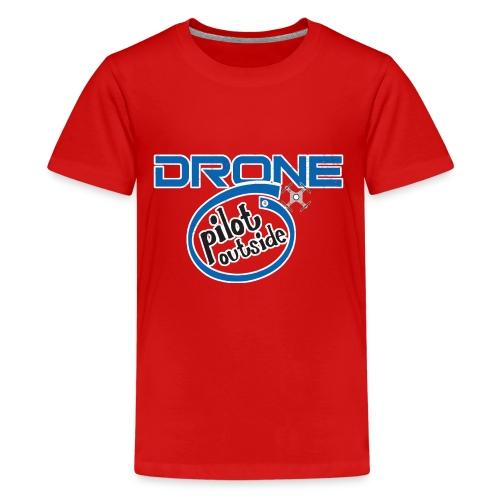 Drone Pilot Outside - Kids' Premium T-Shirt