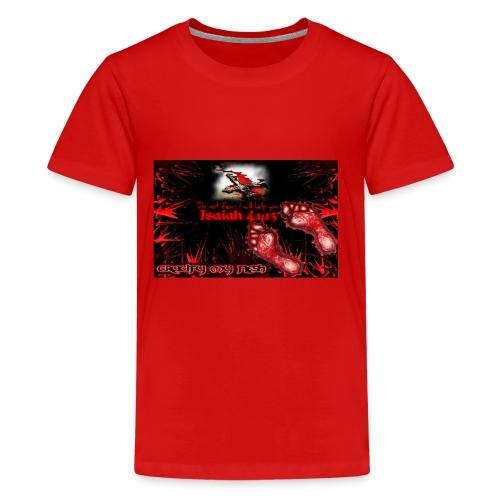 Isaiah 41:13 crucify my flesh - Kids' Premium T-Shirt