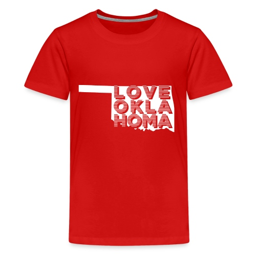 LOVE OKLAHOMA - Kids' Premium T-Shirt