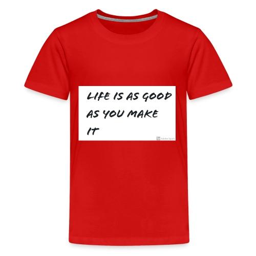 Saying - Kids' Premium T-Shirt