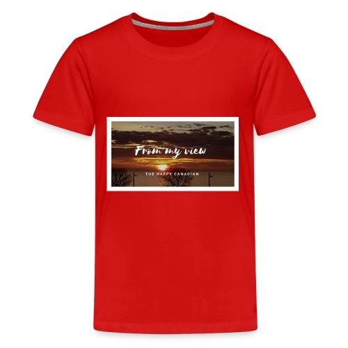 THE HAPPY CANADIAN - Kids' Premium T-Shirt