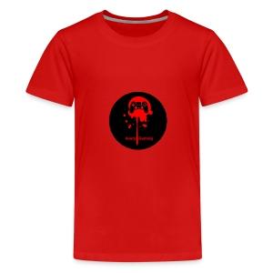 Avery Gaming Gun Splatter - Kids' Premium T-Shirt