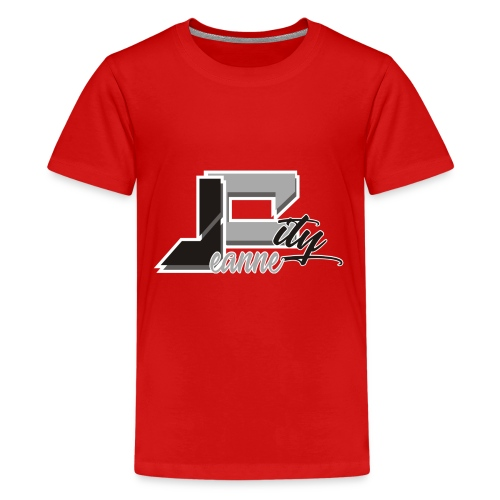 JeanneCityLogoOfficialBnW - Kids' Premium T-Shirt