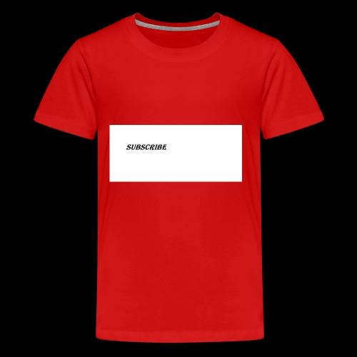 Subscribe iphone case - Kids' Premium T-Shirt