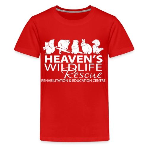 HWR White - Kids' Premium T-Shirt