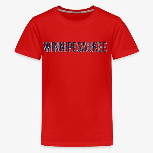 Lake Winnipesaukee Vintage T-Shirt - Kids' Premium T-Shirt
