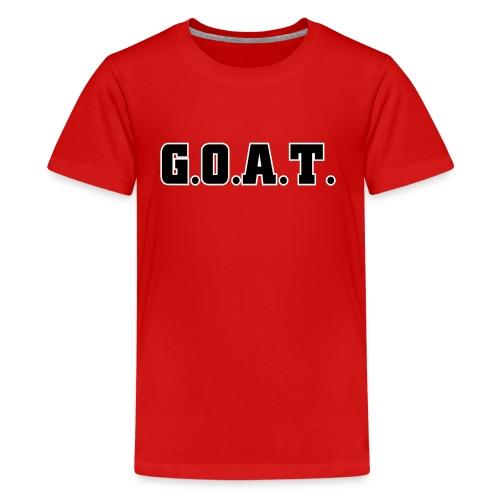 THE G.O.A.T - Kids' Premium T-Shirt