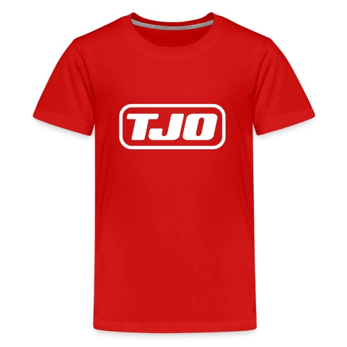 TJO official white - Kids' Premium T-Shirt