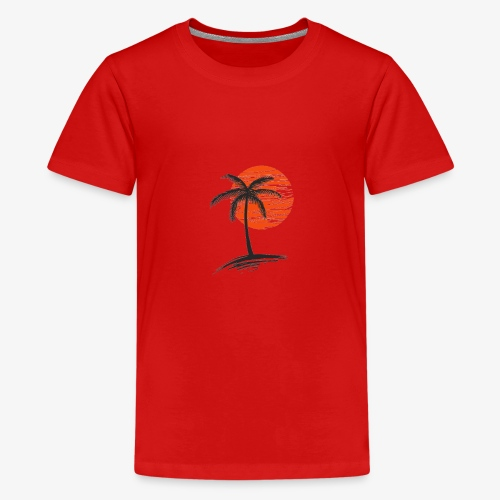 Palm Tree Original - Kids' Premium T-Shirt