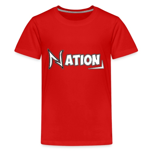 Nation Logo Design - Kids' Premium T-Shirt