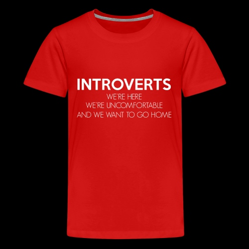INTROVERTS - Kids' Premium T-Shirt