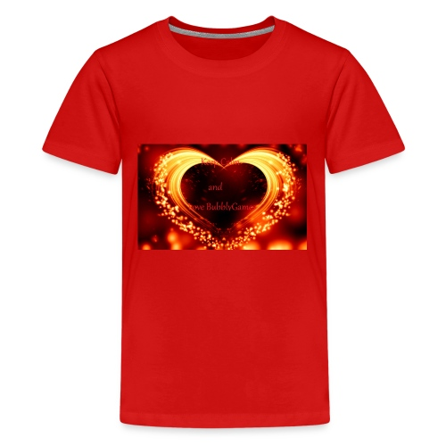 BubblyGames set (Love Edition) - Kids' Premium T-Shirt