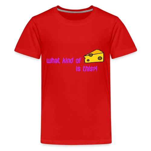 What kind of CHEESE is this? - Kids' Premium T-Shirt