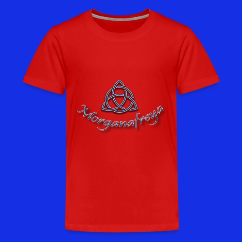 Morganafreya Celtic Knot Icon - Kids' Premium T-Shirt