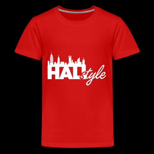 HALIStyle City Skyline - Kids' Premium T-Shirt