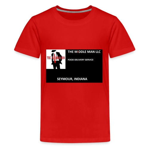 The Middle Man FDS Logo - Kids' Premium T-Shirt