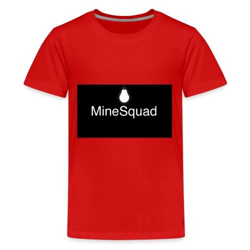 #MineSquad Thinking Logo - Kids' Premium T-Shirt