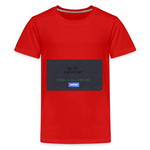 DINO Claw Gaming - Kids' Premium T-Shirt