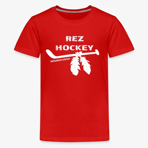 Rez Hockey - Kids' Premium T-Shirt