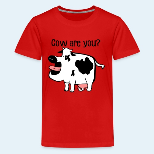 Cow are you? - Kids' Premium T-Shirt