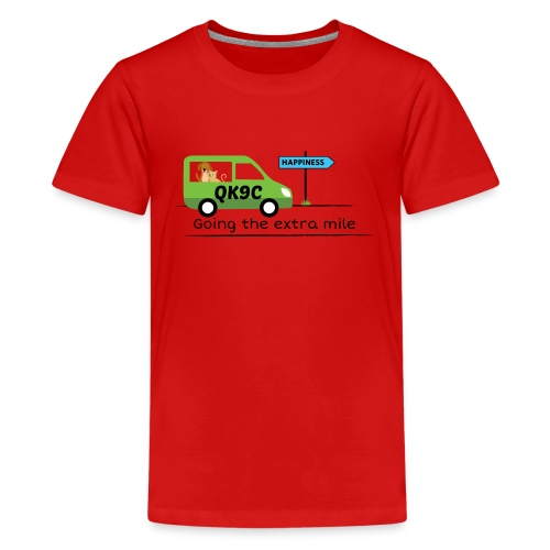Going the extra mile - Kids' Premium T-Shirt