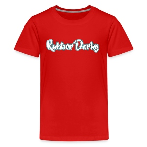 Rubber Dorky - Logo (name) - Kids' Premium T-Shirt