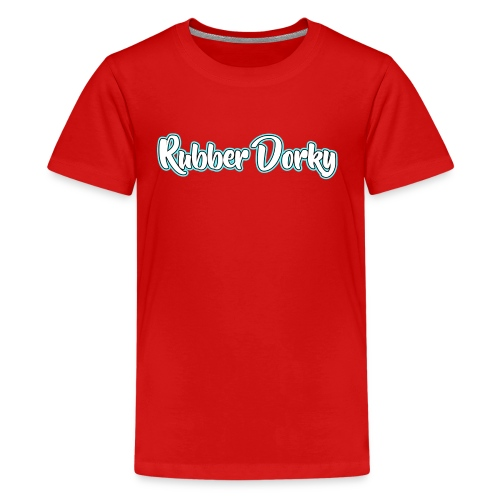 Rubber Dorky - Logo (name) - Kids' Premium T-Shirt