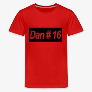 Dan # 16 Classic Logo - Kids' Premium T-Shirt
