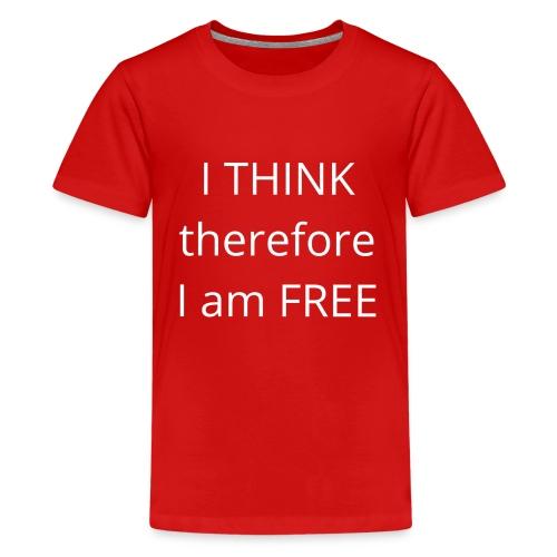Freethinker - Kids' Premium T-Shirt