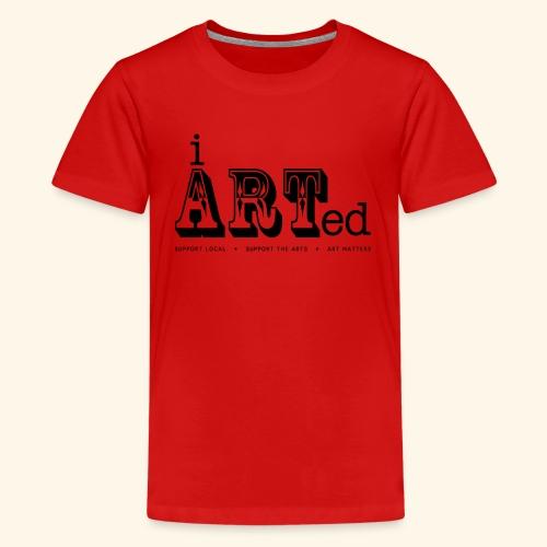 i arted (carnival theme) - Kids' Premium T-Shirt