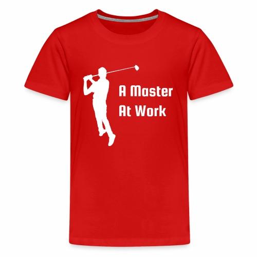 A Master At Work - Kids' Premium T-Shirt