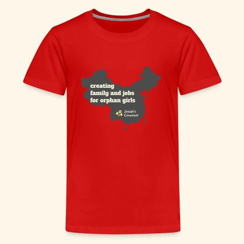 Josiah's Covenant - map - Kids' Premium T-Shirt
