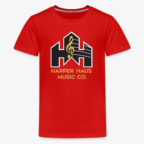 Harper Haus Music Company Full Color Logo - Kids' Premium T-Shirt