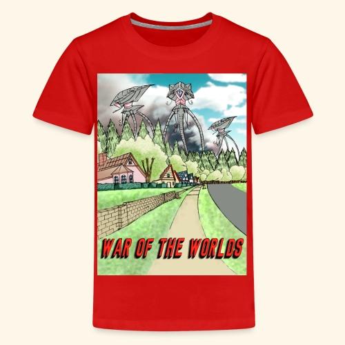 Alien Invasion Poster - Kids' Premium T-Shirt