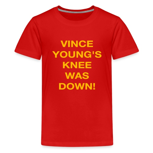Vince Young's Knee Was Down - Kids' Premium T-Shirt