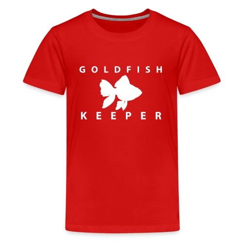 Goldfish Keeper (telescope) - Kids' Premium T-Shirt