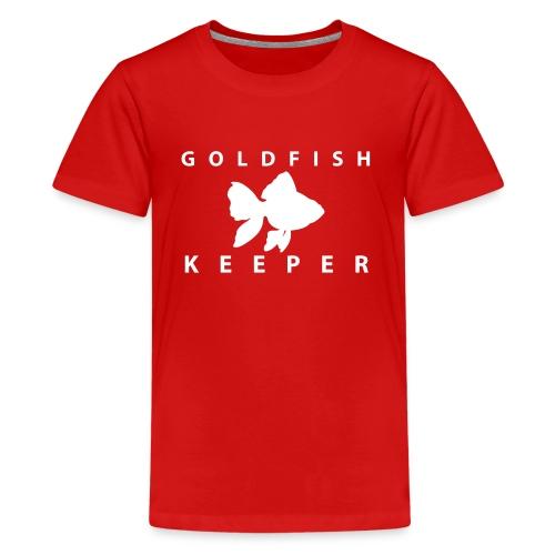Goldfish Keeper (telescope) - Kids' Premium T-Shirt