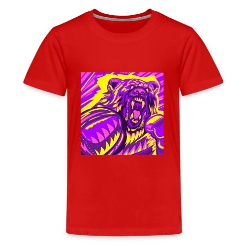 PurpleBoxinBear - Kids' Premium T-Shirt