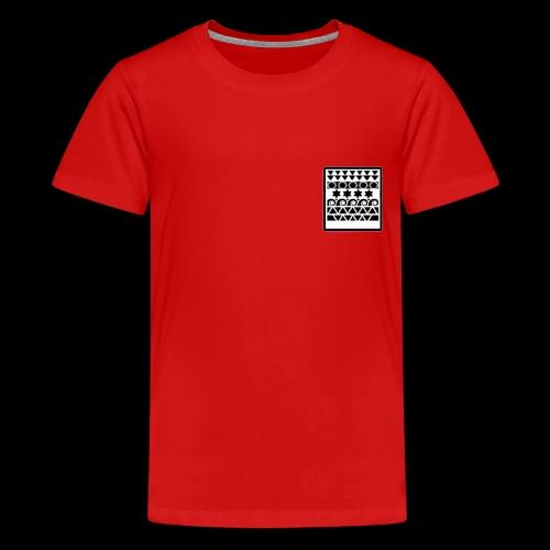t-shirt bolso mandala - Kids' Premium T-Shirt