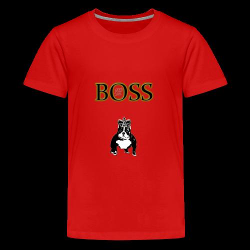 Boss Dog - Kids' Premium T-Shirt