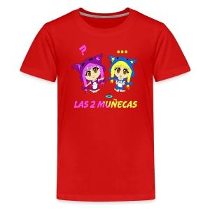 Nellita eats oreos - Kids' Premium T-Shirt