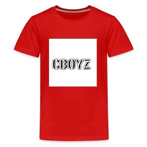 C Boyz logo - Kids' Premium T-Shirt