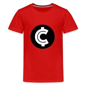 Crypto Coin RIch Logo - Kids' Premium T-Shirt