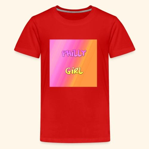 phillygirlhpastel - Kids' Premium T-Shirt