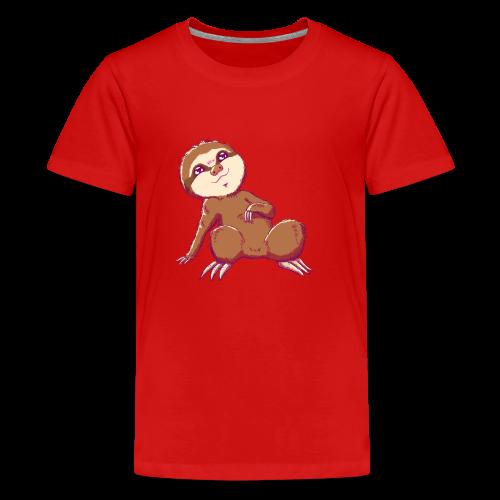 Baby Sloth - Lio - Kids' Premium T-Shirt