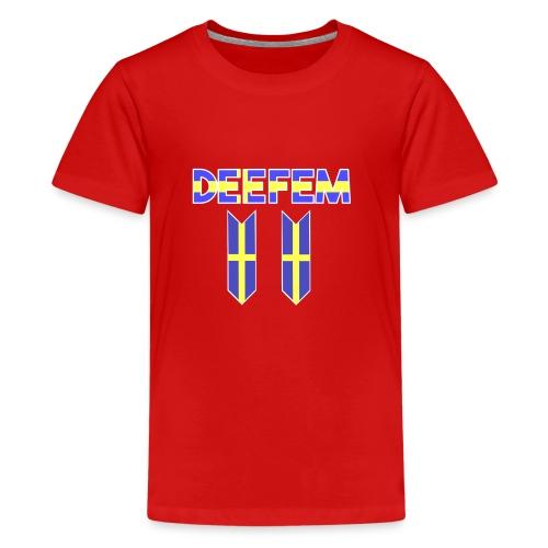Deefem Swedish - Kids' Premium T-Shirt