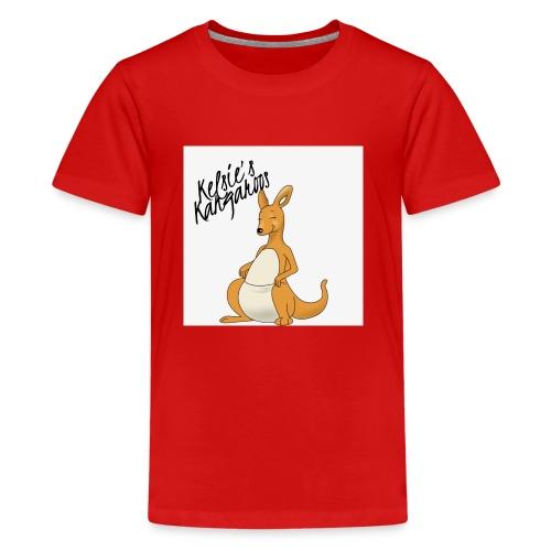 Kelsie's Kangaroos - Kids' Premium T-Shirt