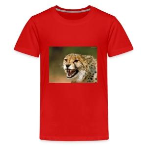 cheetah big cat - Kids' Premium T-Shirt