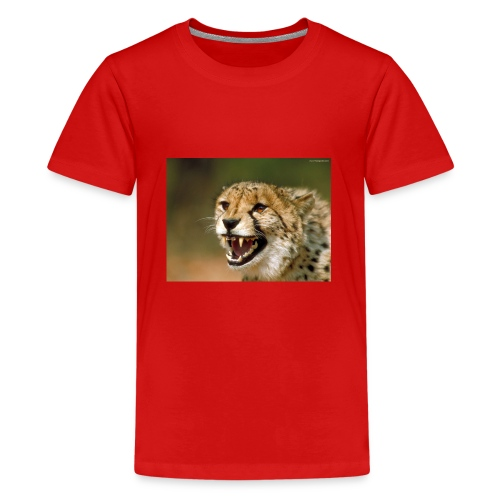 cheetah big cat - Kids' Premium T-Shirt