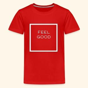 Feel Good logo - Kids' Premium T-Shirt